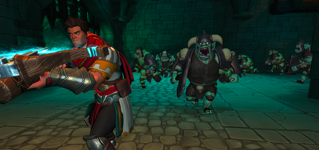 XBLA, PC Orcs Must Die adds third-person action to tower defense