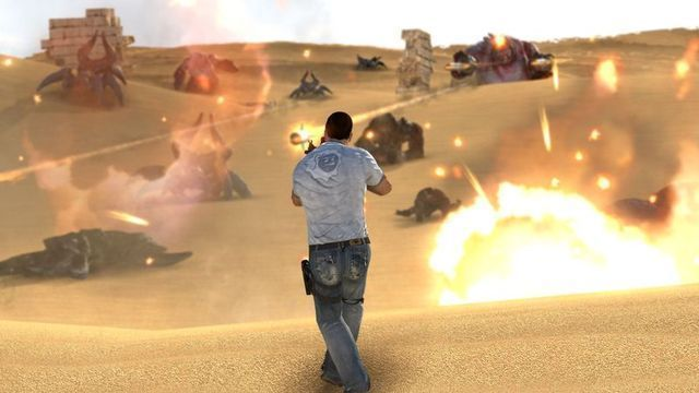 The weapons of Serious Sam 3: BFE—all of them