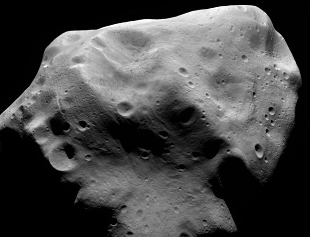 Asteroid flyby reveals a body left over from birth of the solar system