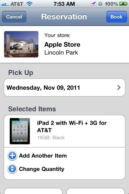 Reserve items, check yourself out with the Apple Store 2.0 app