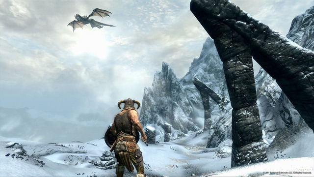 Dragon-slaying will be a routine part of your every-day life in <em>The Elder Scrolls V: Skyrim</em>