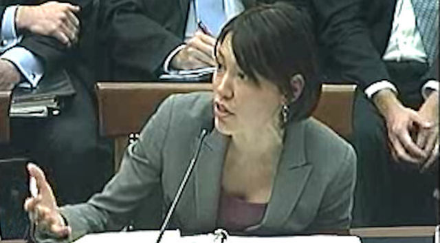 Google policy counsel Katherine Oyama.