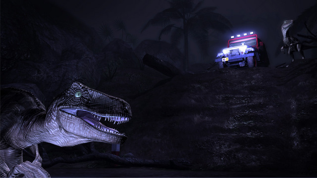 Better to watch than to play: Jurassic Park: The Game