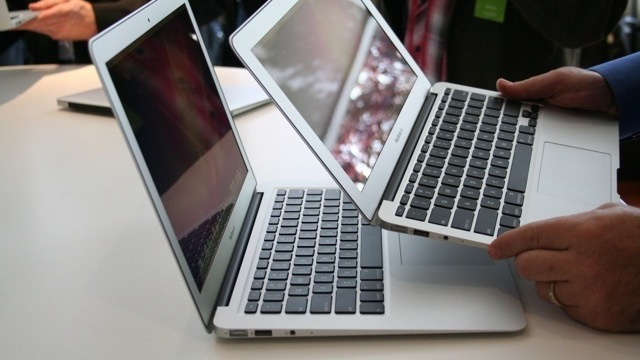 MacBook Air supplies almost one-third of Apple notebook sales