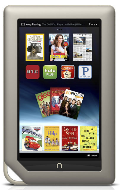 Barnes & Noble fights Kindle Fire with $249 Nook Tablet