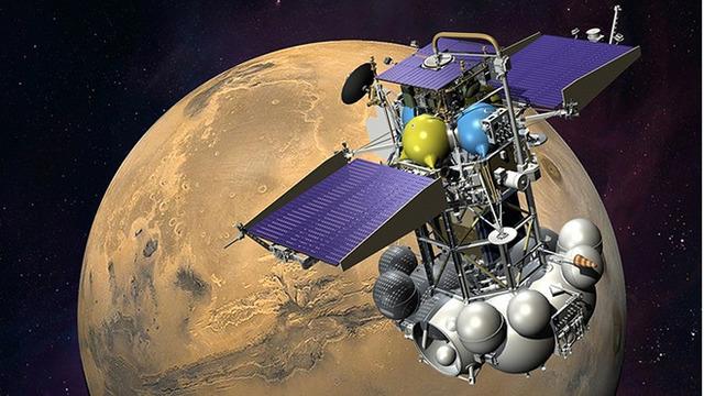 Russia's Phobos-Grunt Mars probe stranded in Earth orbit