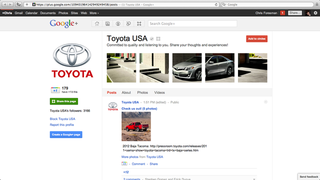 Businesses can now participate on Google+ with brand
