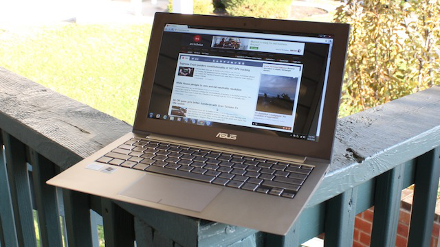 The Asus Zenbook: a steely marvel with an appalling trackpad