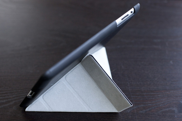 Pong's iPad 3G case folds like origami to provide the tablet with a convenient kickstand
