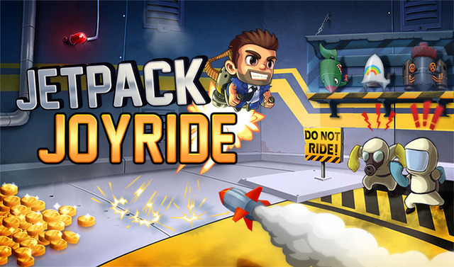 Free, high-quality updates are the key to Jetpack Joyride's success