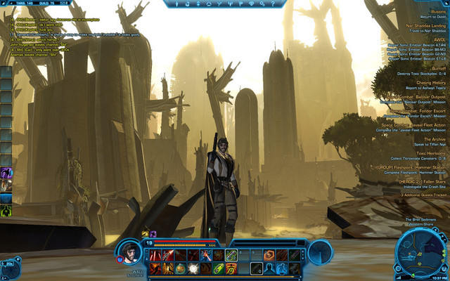 The Old Republic diaries: a newbie to MMOs learns dungeon basics at level 20