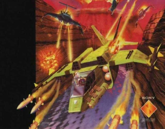Masterpiece: Warhawk: the Red Mercury Missions for the PlayStation One