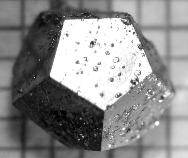 Sample of a lab-made quasicrystal