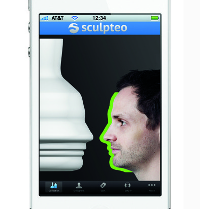 Sculpteo's custom 3D printing app for the iPhone