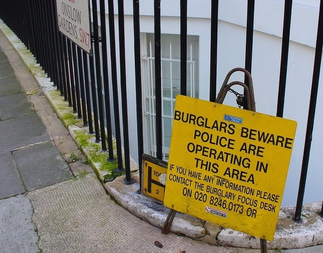 Blame the Internet: London's burglars won't even steal CDs, DVDs
