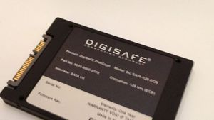 Digisafe DiskCrypt, on display at CES 2012
