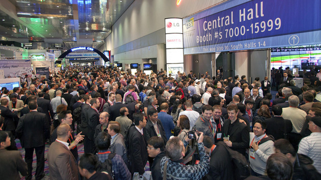 Crowds descended upon Las Vegas to see the latest gear at the Consumer Electronics Show