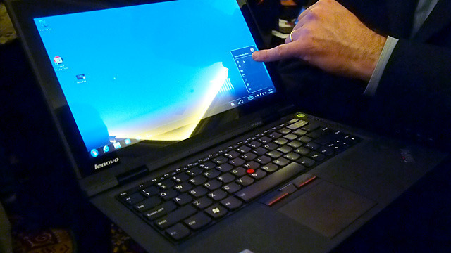 Lenovo's upcoming ThinkPad X1 Hybrid notebook.