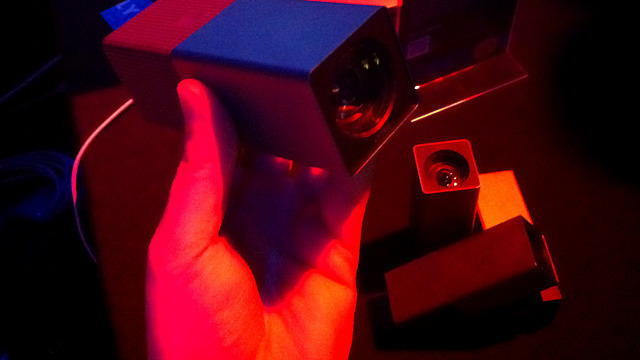 Lytro's upcoming digital light field camera at CES 2012.
