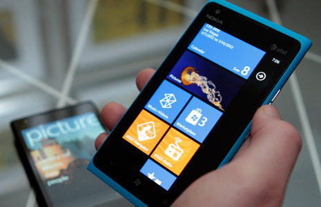 The Nokia Lumia 900, Nokia's first LTE-capable Windows Phone