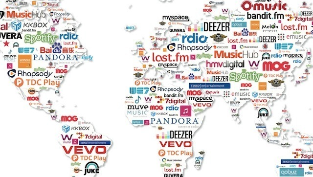 IFPI's music map of legal services