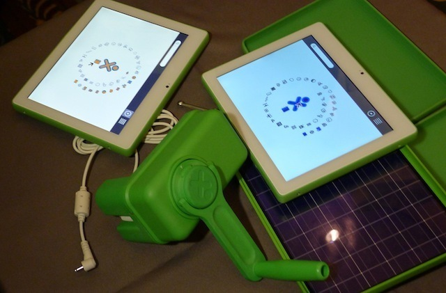 Crank, bicycle, and waterwheel: hands-on with the OLPC XO 3.0 tablet