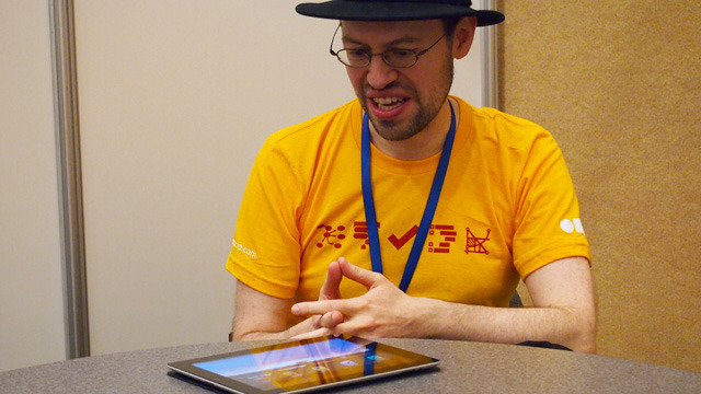The Omni Group CEO Ken Case at Macworld|iWorld 2012.