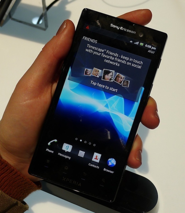 Hands on with Sony's first independent smartphone, the Xperia Ion