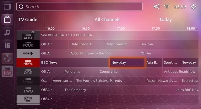 Hands-on with Ubuntu TV, above and under the hood