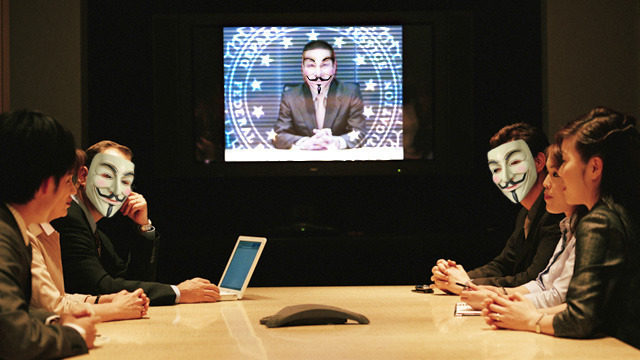 Anonymous pokes fate bear, leaks FBI conference call about Anonymous