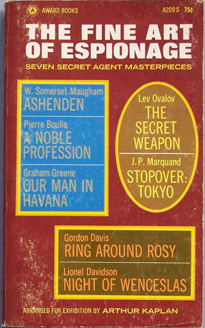 Was Peter Gleick inspired by secret agent masterpieces?