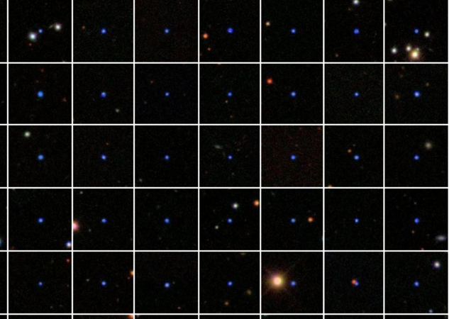 A sample drawn from over 4000 white dwarfs in the Sloan Digital Sky Survey (SDSS) data. The number of binary white dwarf systems and the merger rate were determined from this data.
