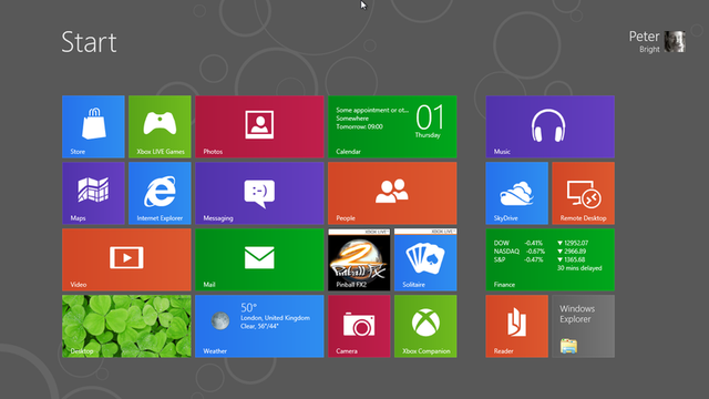 The Start menu is no more. The Start screen is coming.