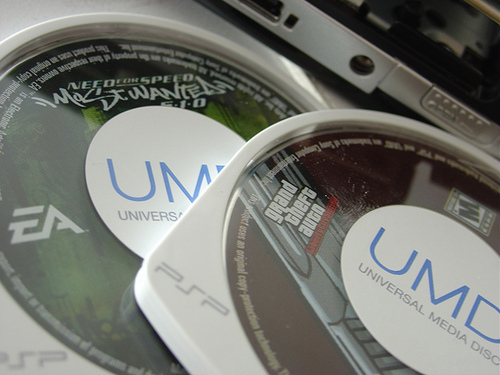Statistics suggest that these two UMDs would be worth .00024 Vita launch titles, if the system had backward compatibility...