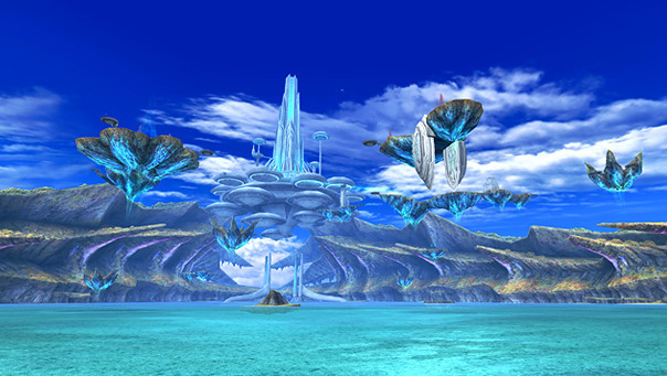 North American Wii owners will get the opportunity to see scenes like this in <i>Xenoblade Chronicles</i> thanks to the grassroots efforts of Operation Rainfall