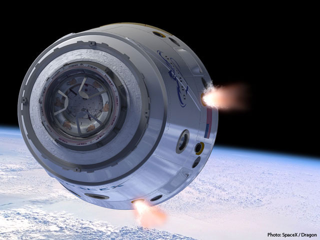 SpaceX's Dragon spacecraft.