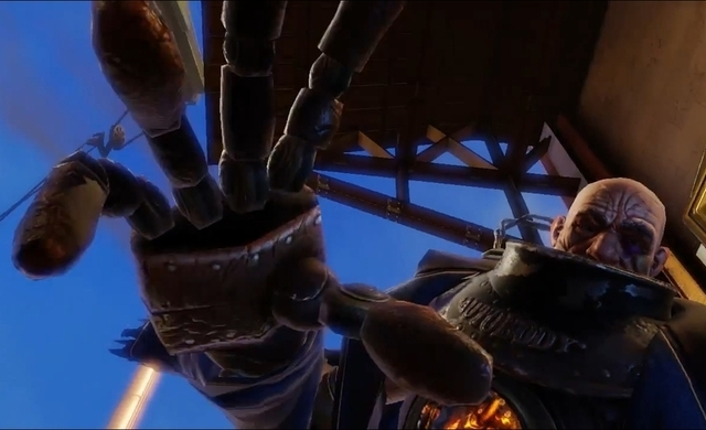 New bioshock infinite trailer discusses creation of creepy the team behind bioshock infinite discusses the creation of the games creepy voltagebd Image collections