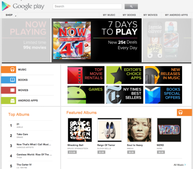 Google Play replaces Android Market and unifies Android content services