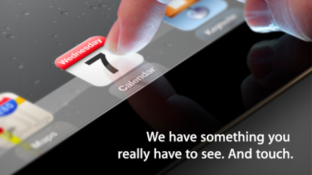 Liveblog: Apple's March 7 iPad event in San Francisco