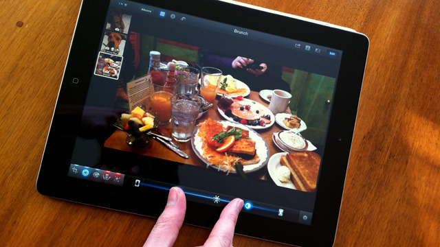 iPhoto of iOS lets you mulitouch your way to better images.