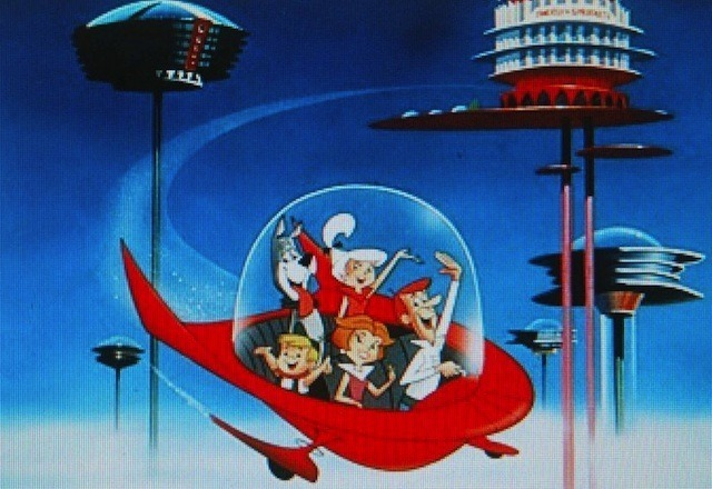 Sadly, the home of the future will not include a flying car. But it will sit on a pole.