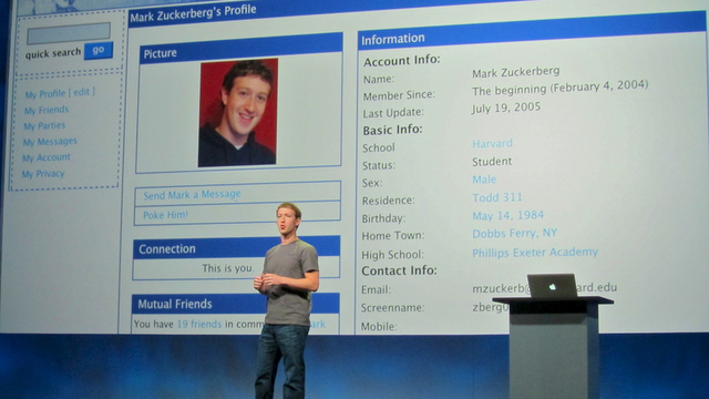That whole social network thing Facebook founder Mark Zuckerberg thinks he created? Yahoo says it did it first.