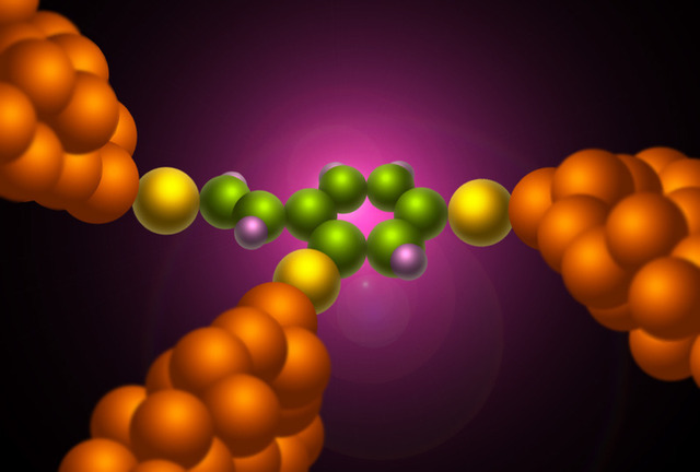 Quantum interference has been observed in other molecules, but only at very low temperatures.