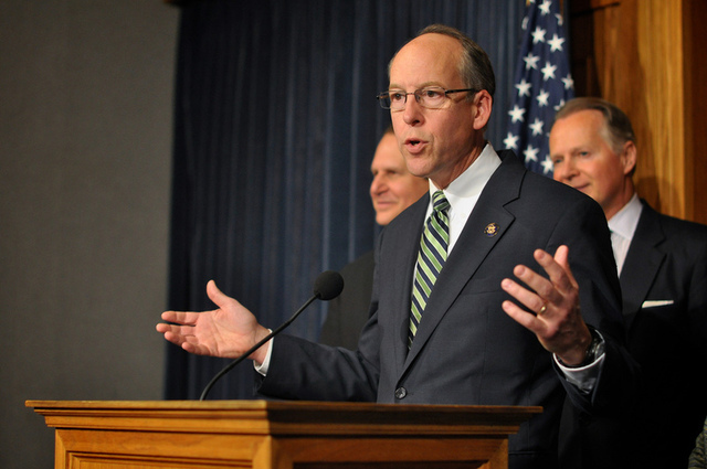 FCC reform bill sponsor Greg Walden said the agency practices