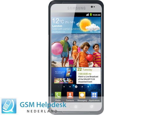A mockup of the upcoming Samsung Galaxy S III