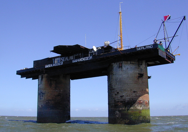 Sealand in all its rusty splendor