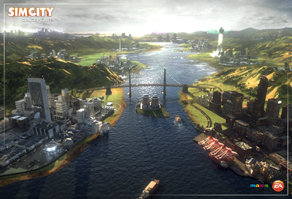 New SimCity to be available outside of Origin, need 'Net connection to play