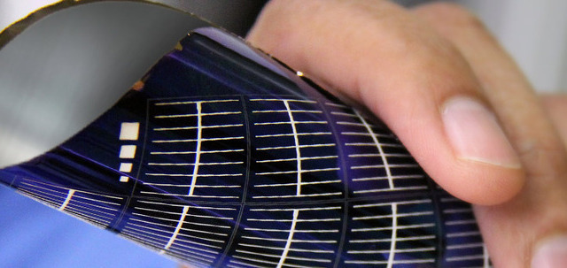 A 20-micrometer thick solar wafer created with Twin Creeks'
