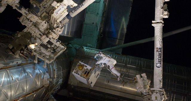 In-orbit refueling tests begin at International Space Station