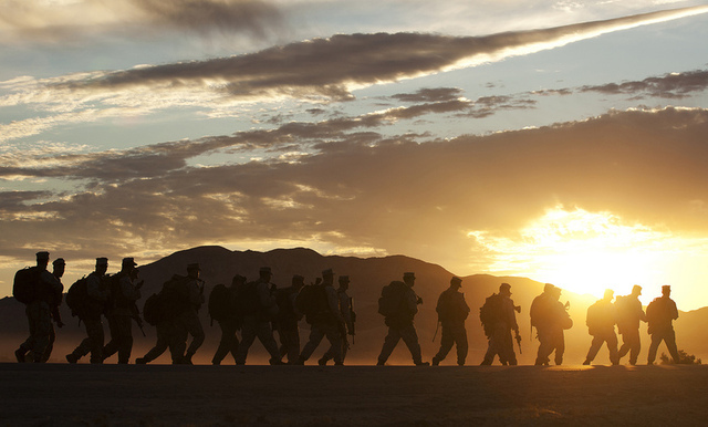 Marine Exercises At Twentynine Palms One Of The Military Installations Analyzed In Study